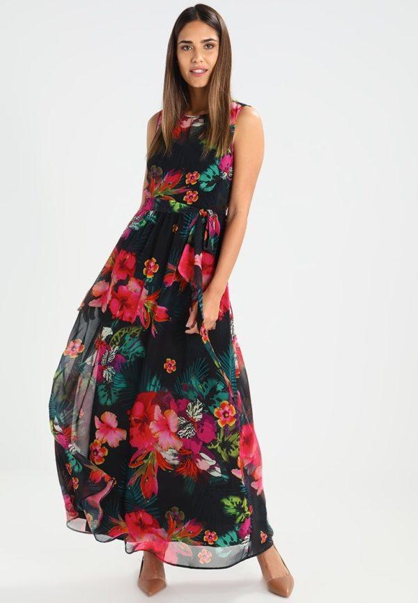 фасоны летних платьев и сарафанов: цветастый