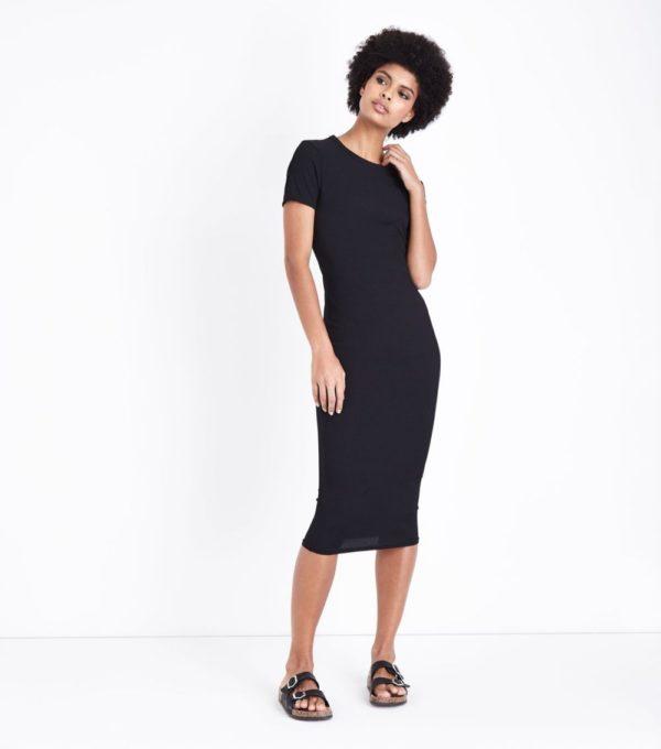 летние платья и сарафаны: черное футляр