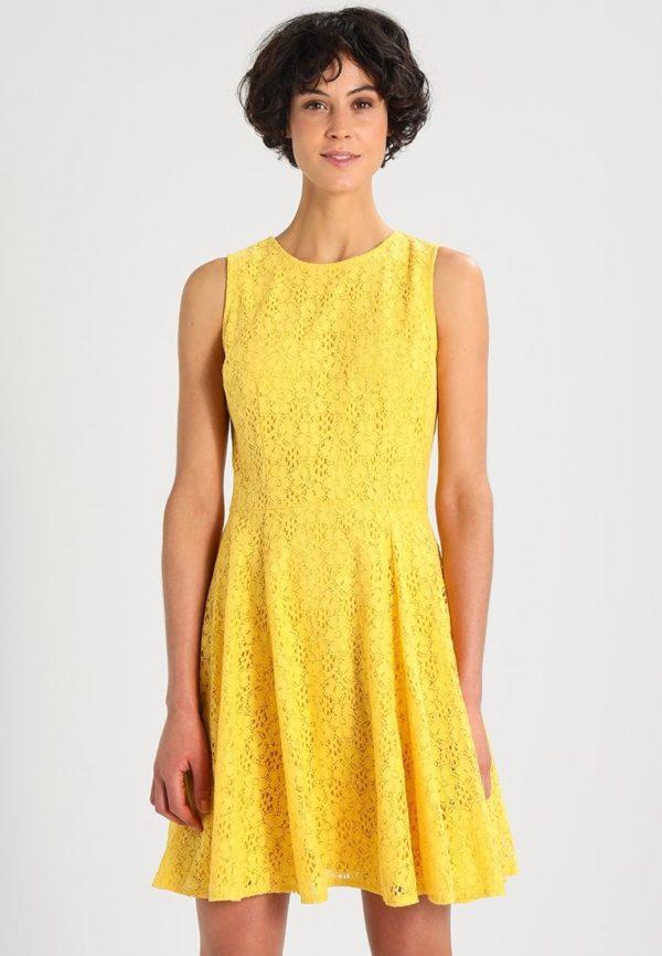 Летние платья и сарафаны: желтое