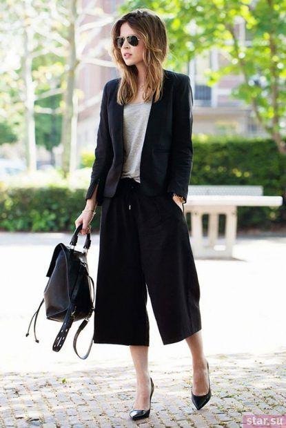 Модные брюки-кюлоты 2018