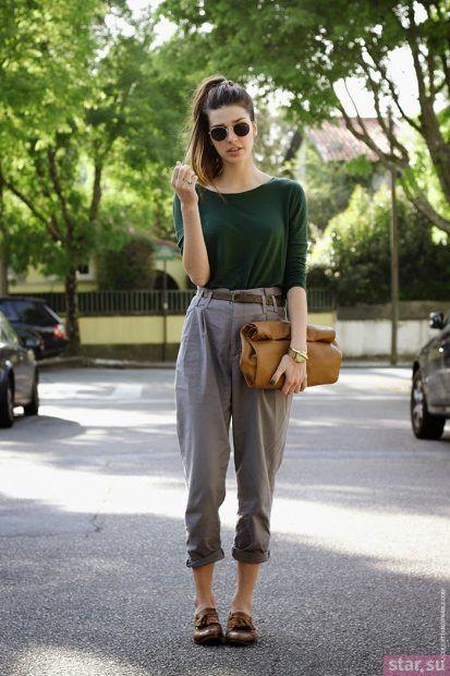 Модные брюки 7/8 2018