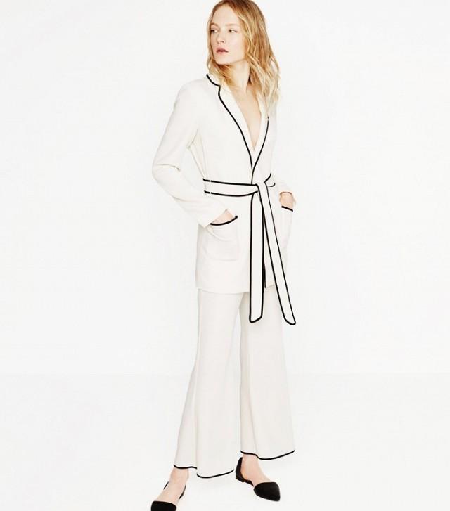 модные костюмы женские фото: в пижамном стиле