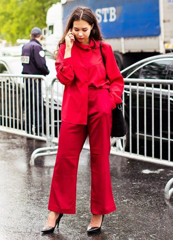 модные костюмы женские фото: яркие