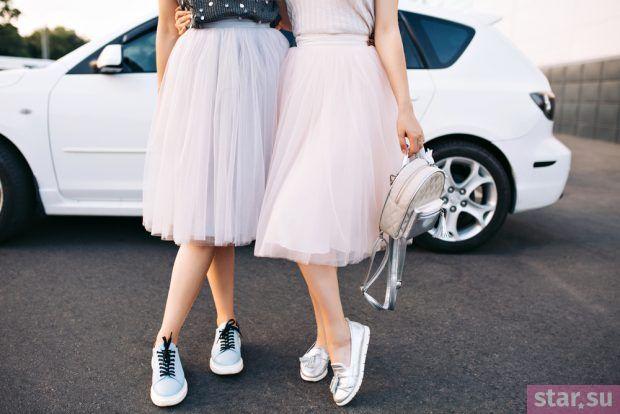 летние образы 2019 для девушек: юбка пачка пышная