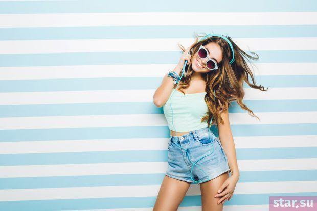 модные летние образы 2019: джинсовые шорты