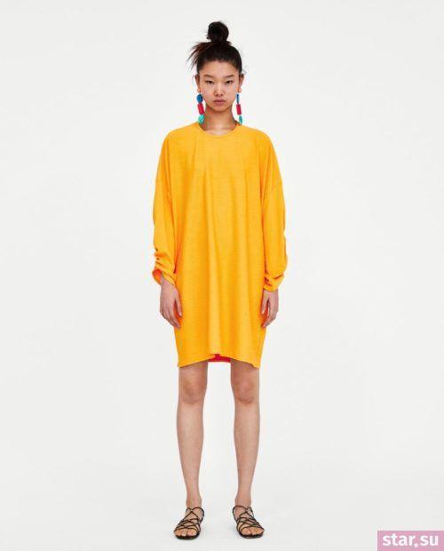 летние образы 2019 для девушек: с желтым платьем