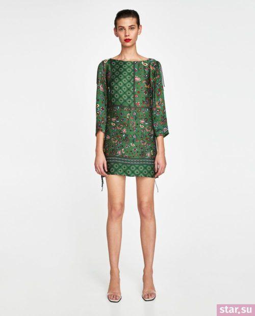 летние образы 2019 для девушек: с зеленым платьем