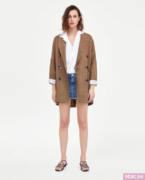 стильные образы лето 2019: с короткой джинсовой юбкой