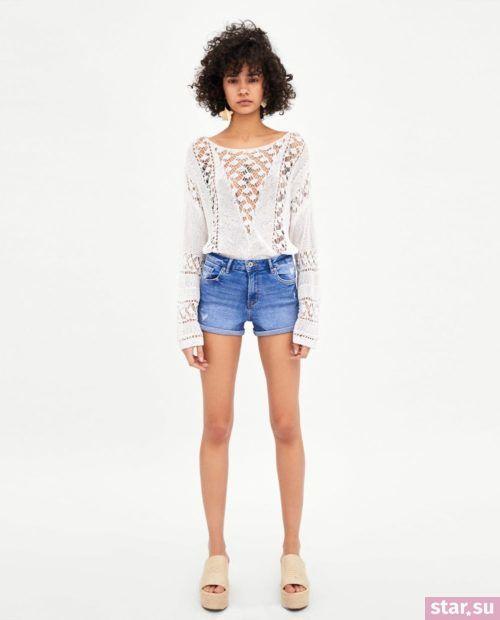 модные летние образы 2019: с джинсовыми шортами