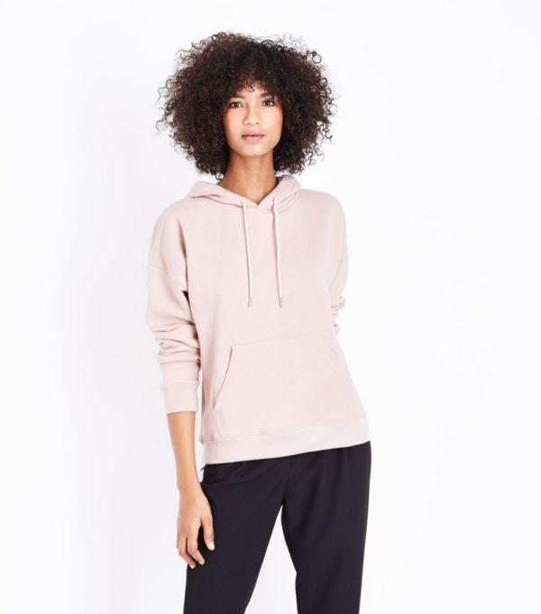 спортивный костюм женский модный: розовый верх черный низ