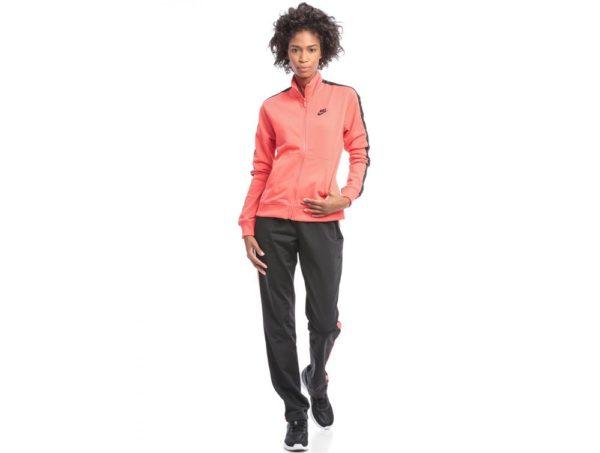 спортивные костюмы: розовый верх черный низ