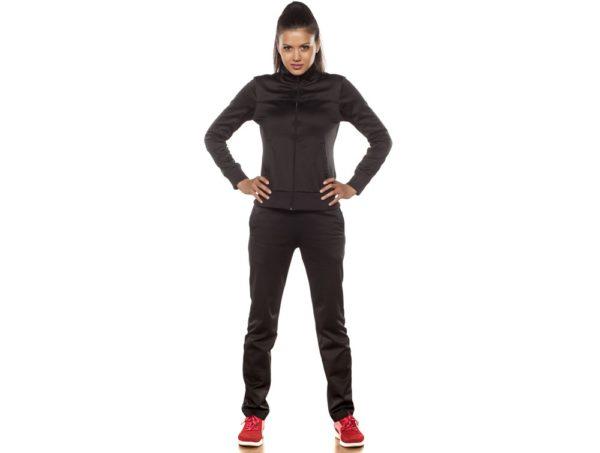 спортивный костюм женский модный: черный