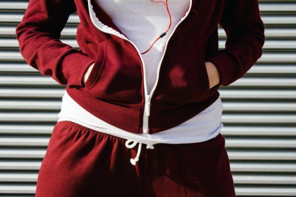 спортивные костюмы 2019-2020 женские: бордовый