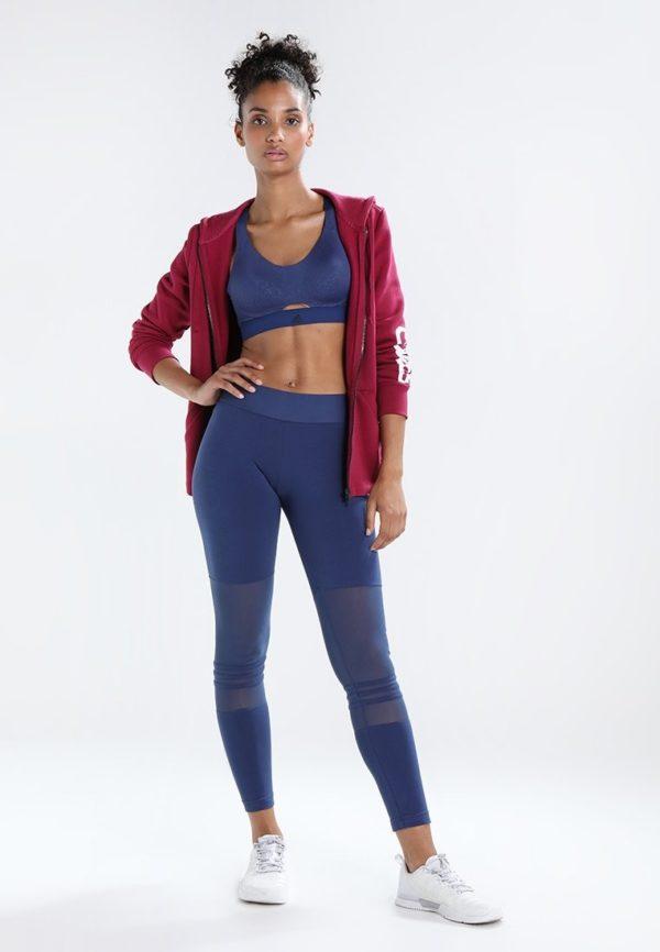 спортивный костюм 2019-2020 женский: Синий облегающий