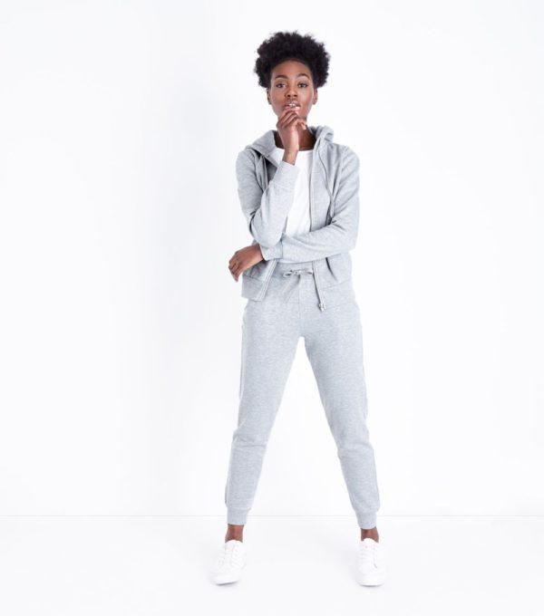 спортивный костюм женский 2019-2020: серый классический