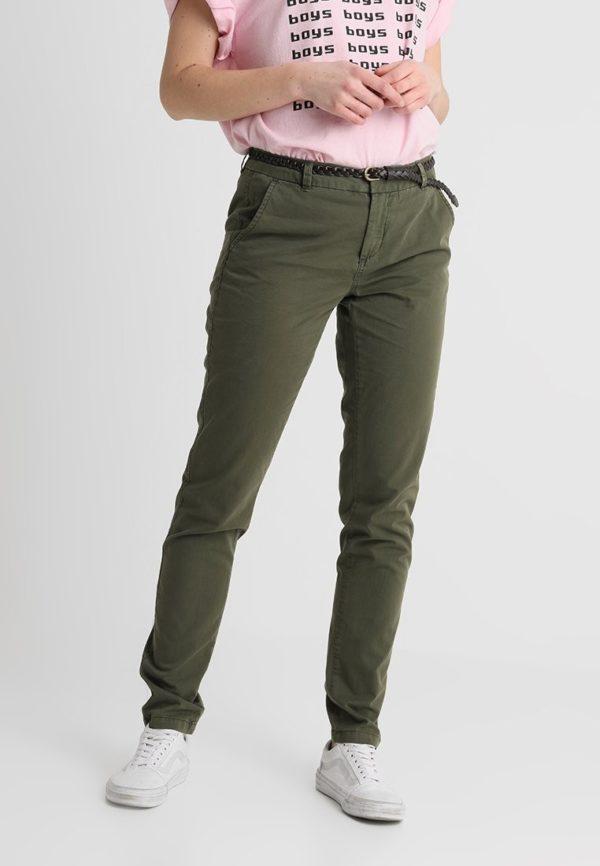 модные женские брюки: цвет хаки