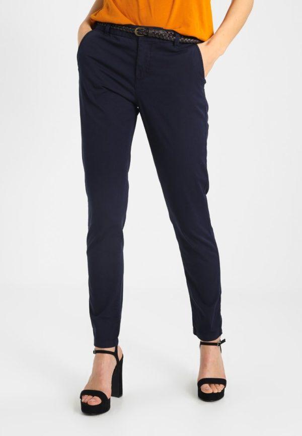 модные женские брюки 2019-2020: черные узкие