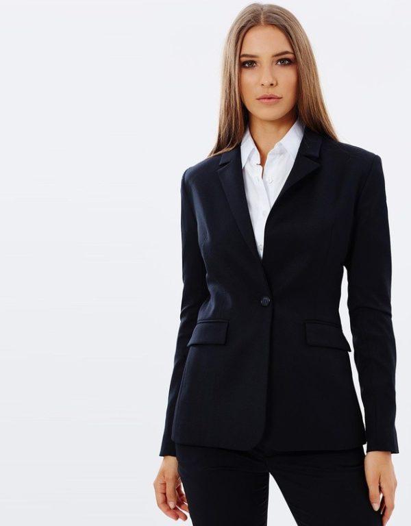 костюм 2019-2020 женский: черный