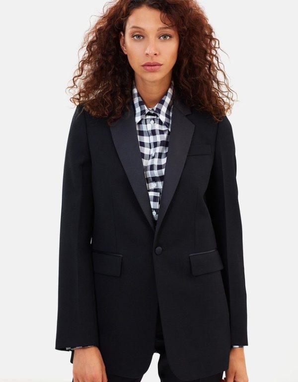 костюм 2020 женский: черный