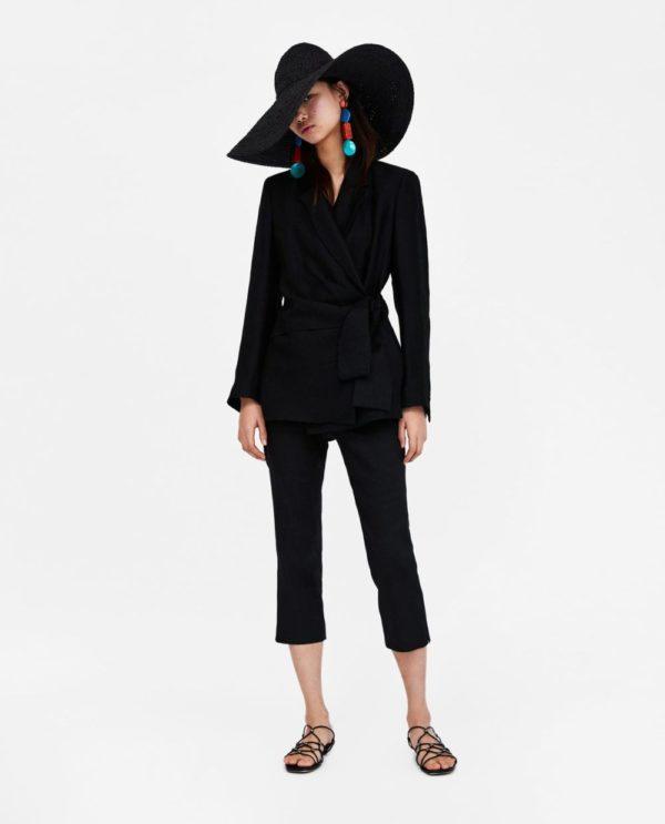 костюм 2018-2019 женский: классический черный