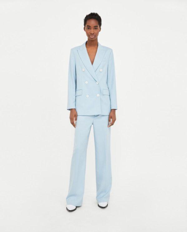 костюм женский фото новинки: голубой