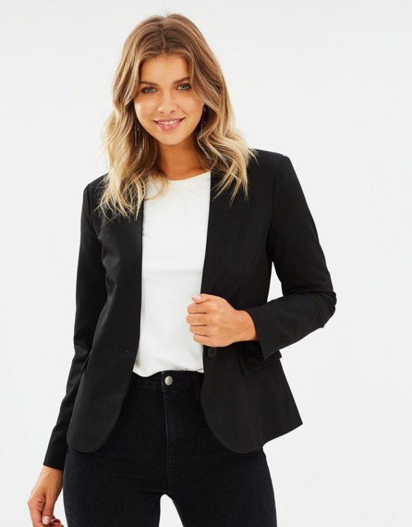 костюм 2018-2019 женский: черный