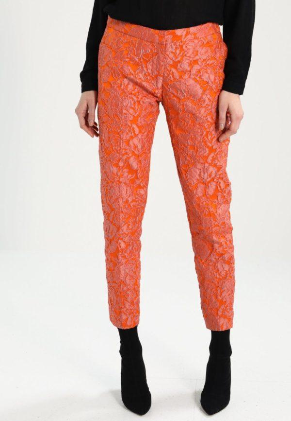 укороченные женские брюки с чем носить: Оранжевые капри