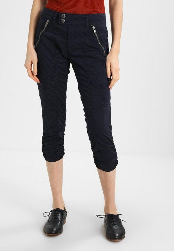 укороченные женские брюки с чем носить: Черные капри