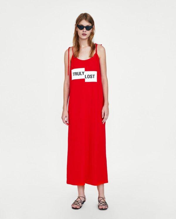 стильные луки 2019-2020: с красным платьем