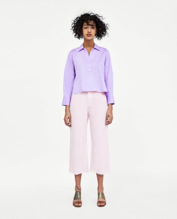 стильные луки: с розовыми джинсами