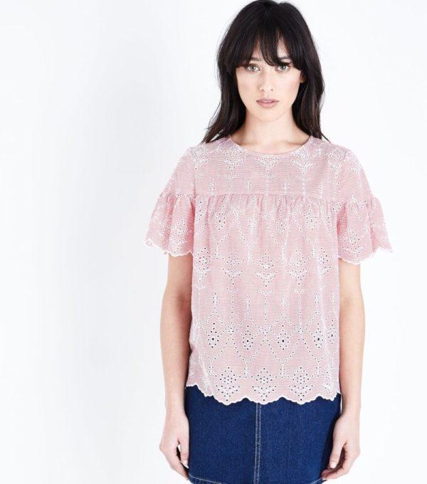 с розовой блузой