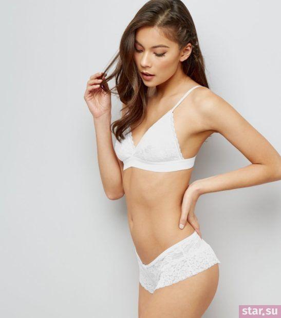 белое нижнее белье