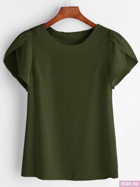 Модные шифоновые блузки в бельевом стиле