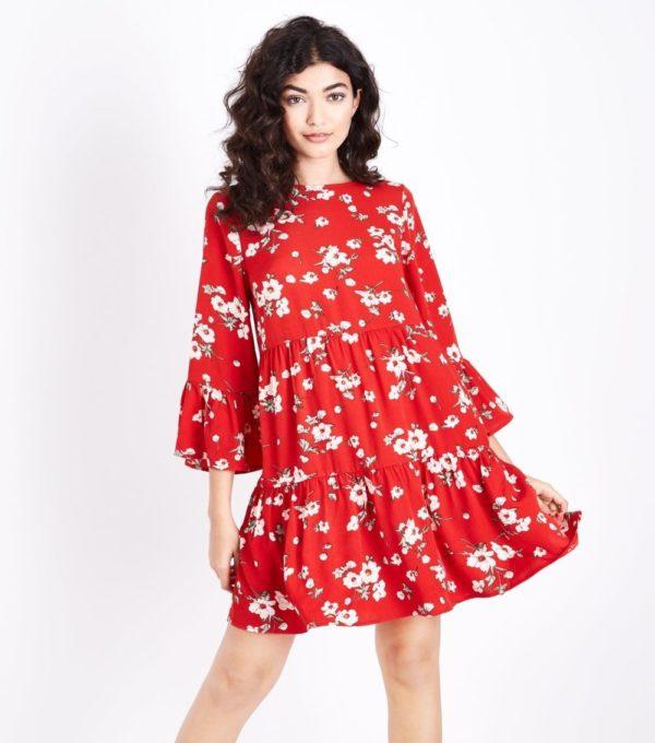 Модные платья 2020-2021 на каждый день: красное