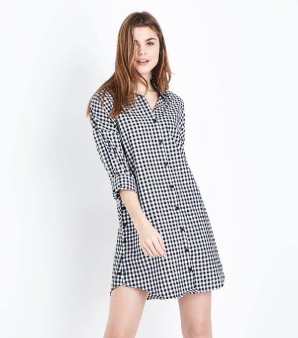 Модное платье на каждый день в горошек весна лето 2019