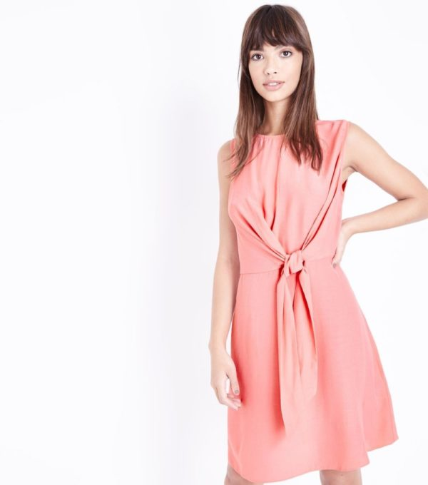 Модное розовое платье на каждый день весна лето 2019