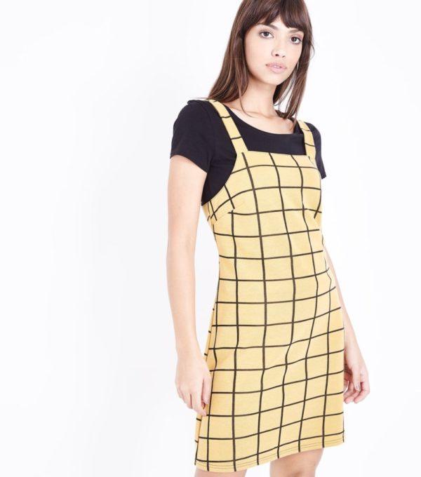 Модное платье на каждый день в клетку весна лето 2019