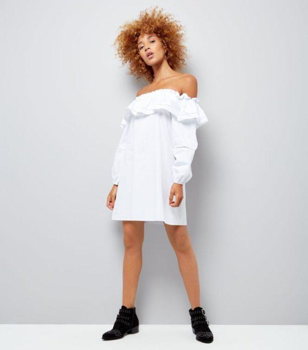 Модные платья 2019-2020 на каждый день: белое