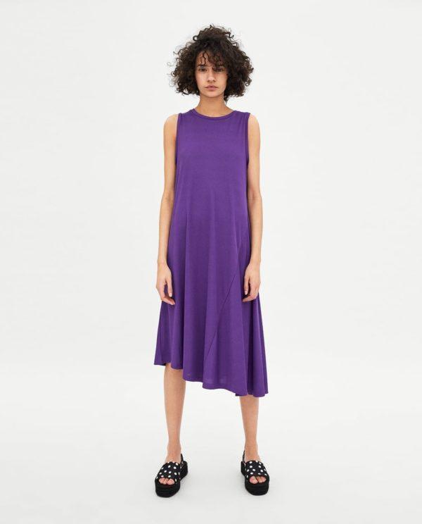 трикотажное фиолетовое