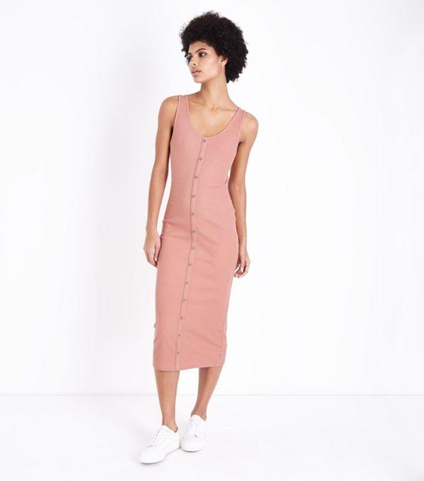 Модные платья 2020 на каждый день: бежевое