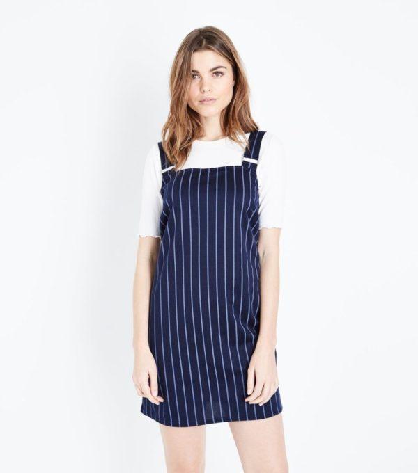 Модные платья 2020-2021 на каждый день: в полоску