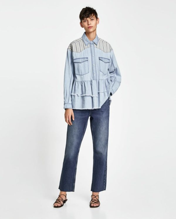 5e9ef25480fe Шок! Модные рубашки женские 2019-2020: 103 фото, тенденции
