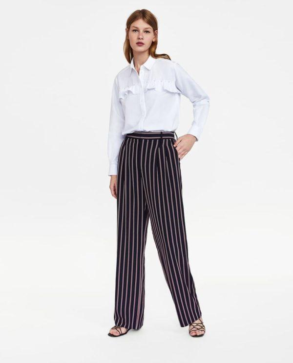Модные женские рубашки: белая