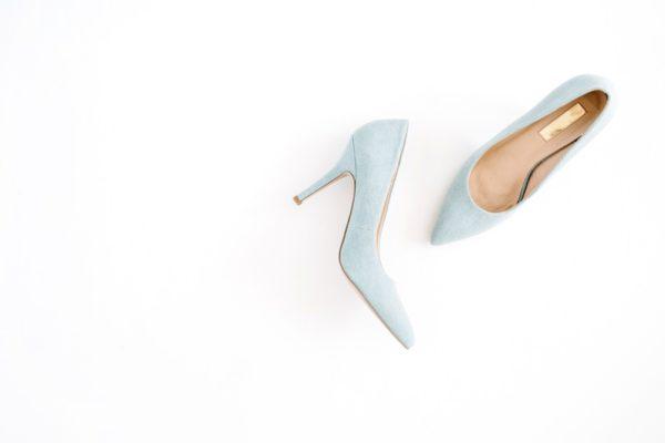женские туфли: Голубые