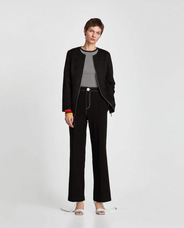 Модные женские пиджаки 2018-2019: черный