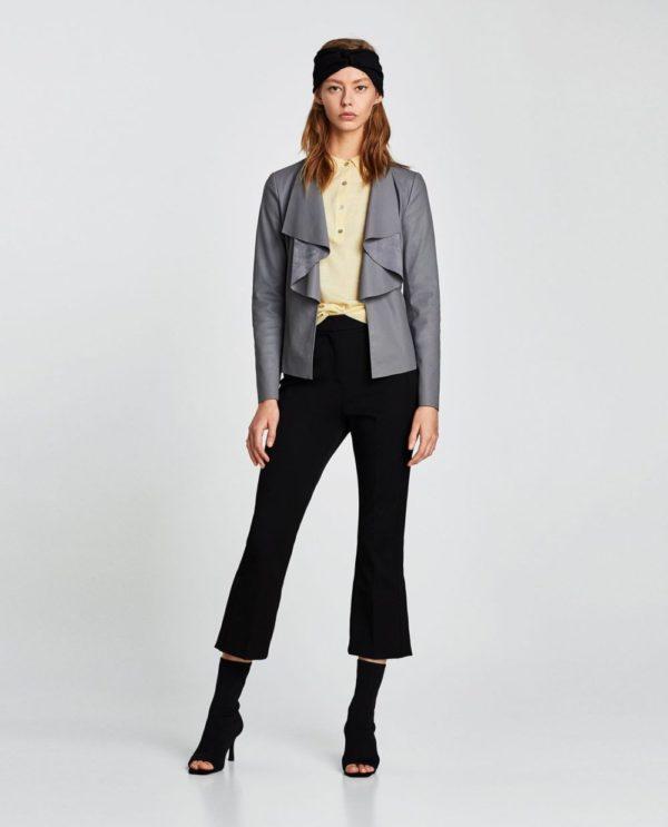 Модные женские пиджаки 2018-2019: серый