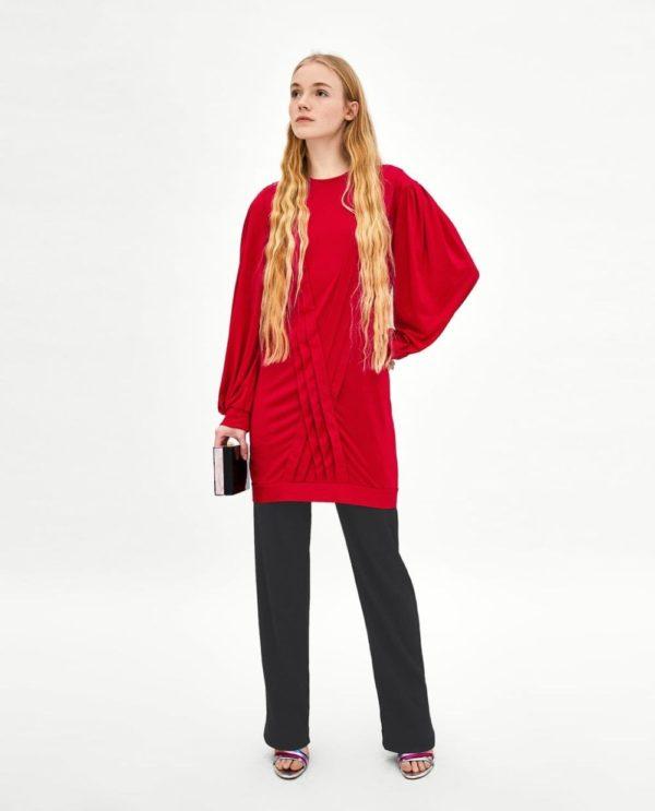 Платья 2018-2019: красное