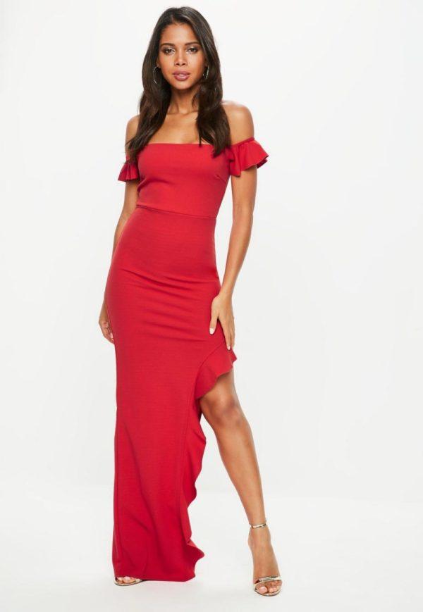 Платья на выпускной 2019 11 класс: красное длинное