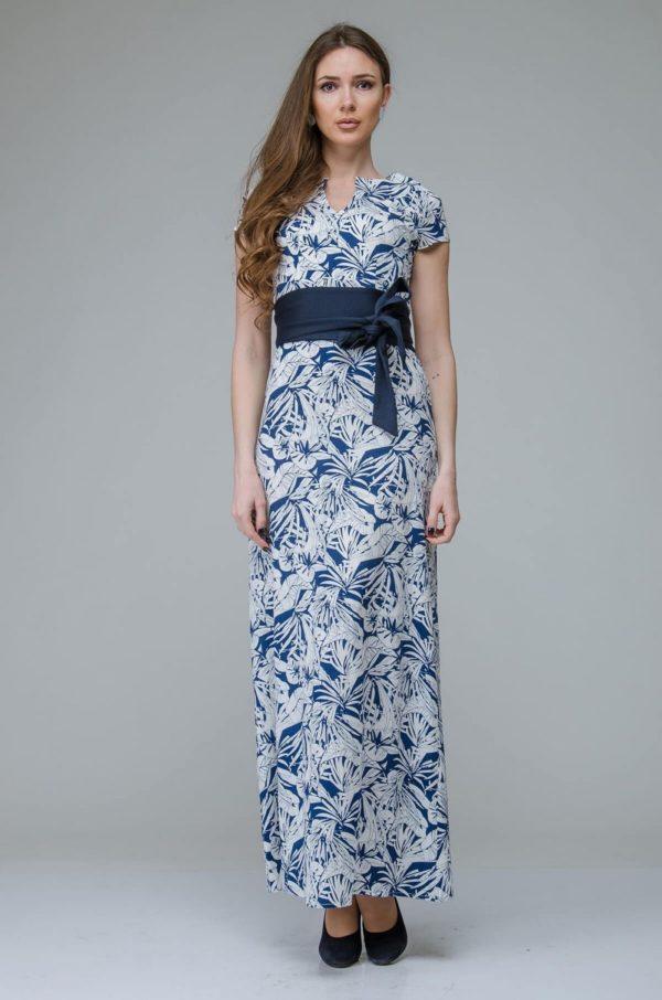 Выпускные платья: с контрастным поясом