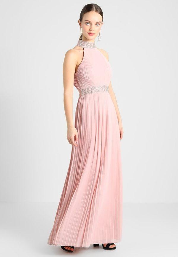 платья на выпускной: Греческое розовое